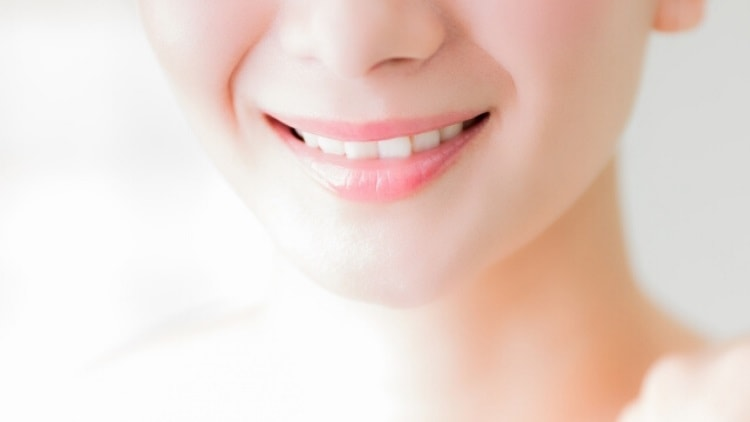 白くかがやく歯に!